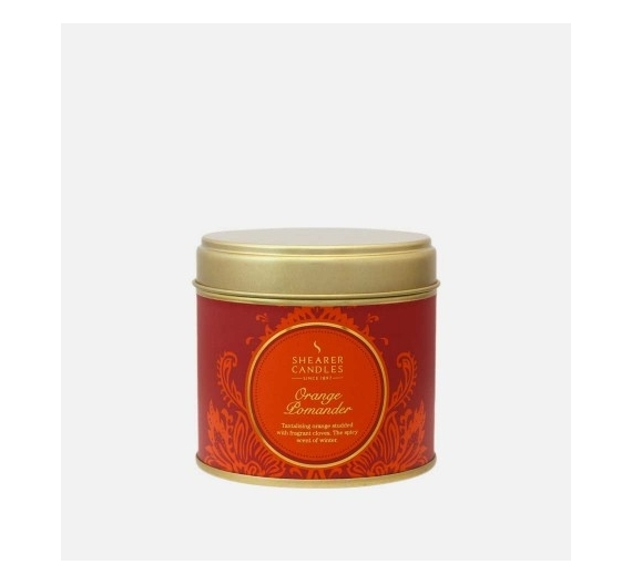 Bougie parfumée Shearer Candles orange pomander 40H