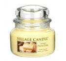 Bougie parfumée quatre quart citron Village Candle