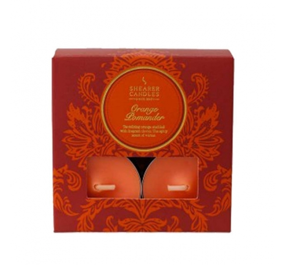 Bougie parfumée orange cannelle Shearer Candles
