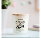 Bougie parfumée Mr Wonderful à l'arôme de câlin Vanilla ice cream