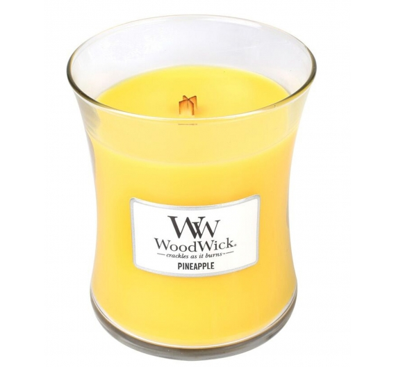 Bougie parfumée Woodwick Pineapple 60H
