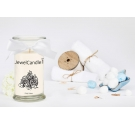 Bougie bijou bracelet Jewelcandle Fluffy cotton