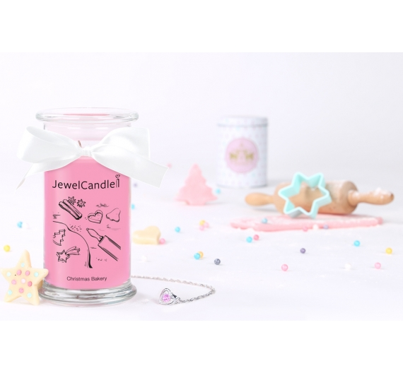 Bougie bijou collier Jewelcandle Bakery cupcake 90H